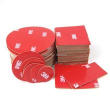 10 stks/partij Ronde Groothandel 3 m Automotive Auto Tape 3 m 4229 Dubbelzijdig Adhesive Acryl Foam Tape Montage Tape