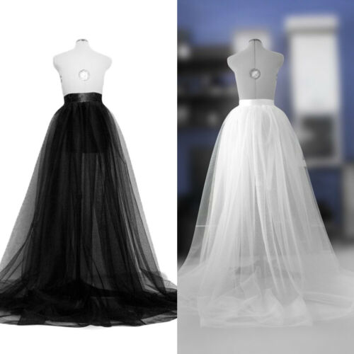 Women Princess Ballet Tulle Pleated Skirt Wedding Prom Rockabilly Bouffant Solid High Waist Skirts
