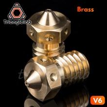 Trianglelab Top qualität V6 Düse für 3D drucker hotend 4 teile/los 3D drucker düse für E3D hotend titan extruder prusa i3 mk3