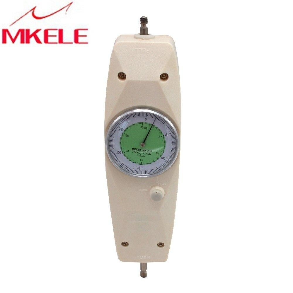 NK-50 50N Pointer Rollenbank meter Analoge Push Pull Force Gauge Tester