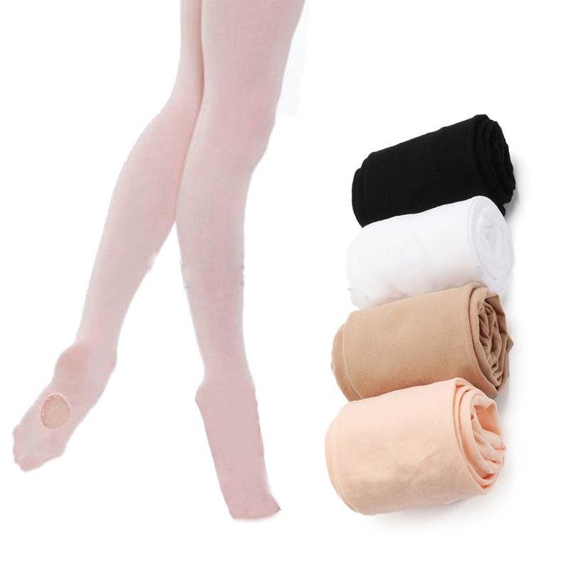 Gran oferta, medias elásticas convertibles para niños y adultos, pantimedias de Ballet, medias deportivas