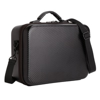 Storage Bag for DJI Mavic 2 Pro Zoom Drone Carrying Case PU Shoulder Bag for Handbag Protective Bag Backpack Drone Box Parts