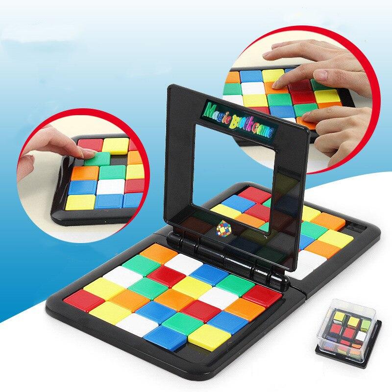 Магический куб гоночная игра для родителей и детей кубик взаимодействия