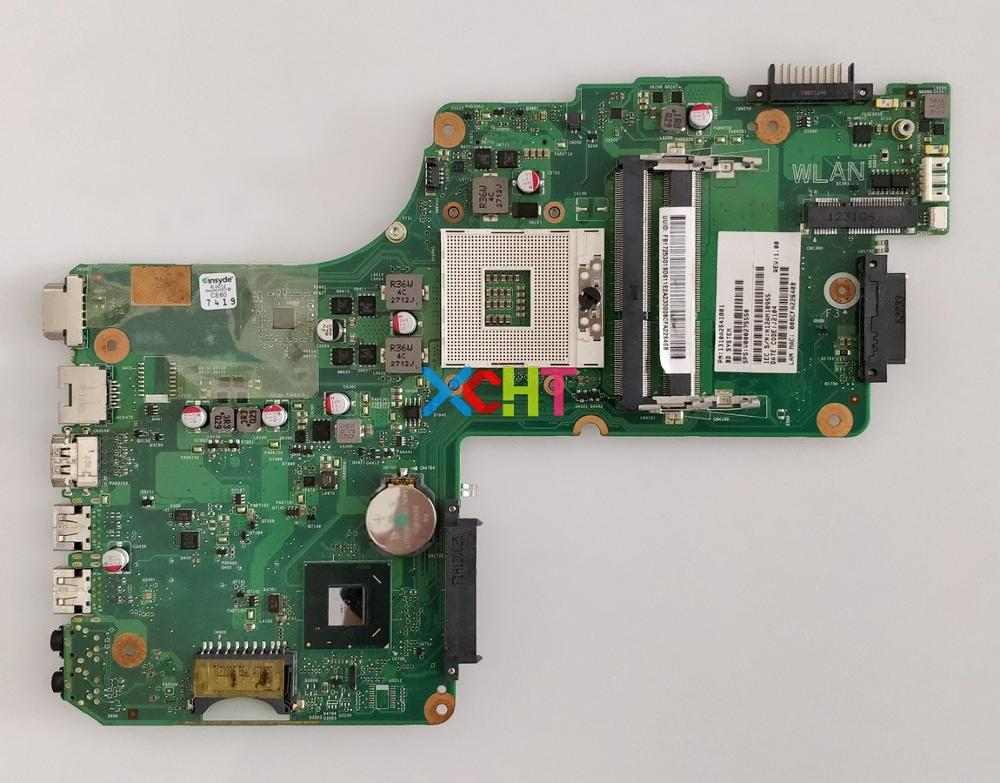 V000275550 6050A2541801-MB-A02 for Toshiba Satellite C855 C850 Series Laptop Motherboard Mainboard Tested v000245020 6050a2338501 mb a02 hm55 for toshiba satellite l630 laptop notebook motherboard mainboard tested