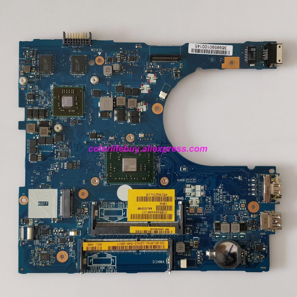 Genuine CN-0VJRMW 0VJRMW VJRMW AAL12 LA-C142P w A4-7210 Laptop Motherboard Mainboard for Dell Inspiron 5555 5455 Notebook PC