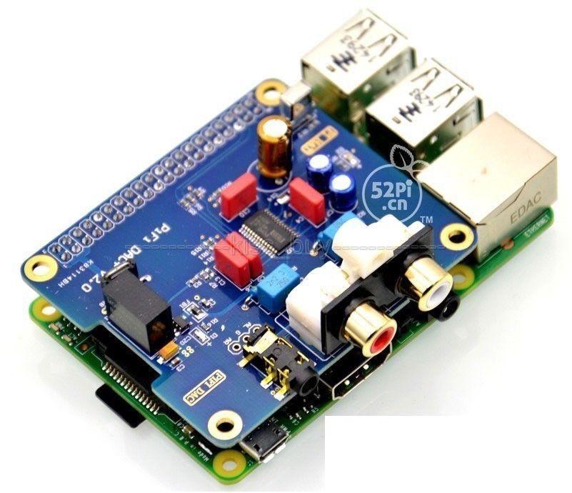 DYKB PCM5122 Raspberry pi B + 2/3B HIFI DAC + звуковая карта цифровой аудио модуль I2S интерфейс специальный Volumio музыка PIR 2B 3