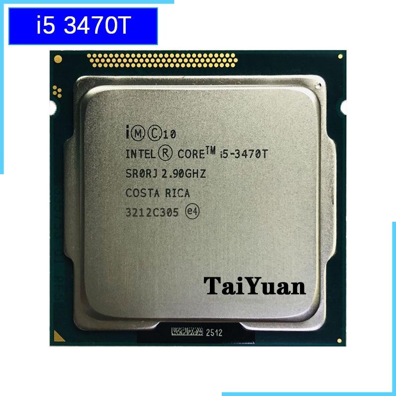 [해외] 인텔 코어 i5-3470T i5 3470T 2.9 GHz 듀얼 코어 쿼드 스레드 CPU 프로세서 3M 35W LGA 1155