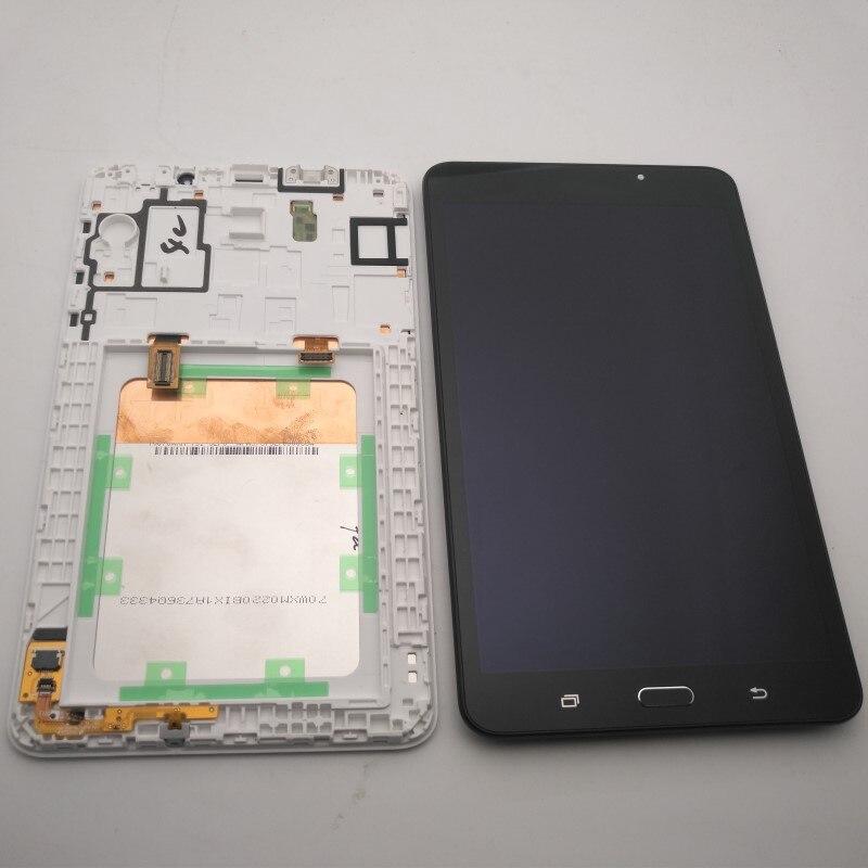 "7,0 ""para Samsung Galaxy Tab A SM-T280 SM-T285 SMT280 SMT285 T280 T285 pantalla LCD + pantalla táctil digitalizador Asamblea piezas de reparación"
