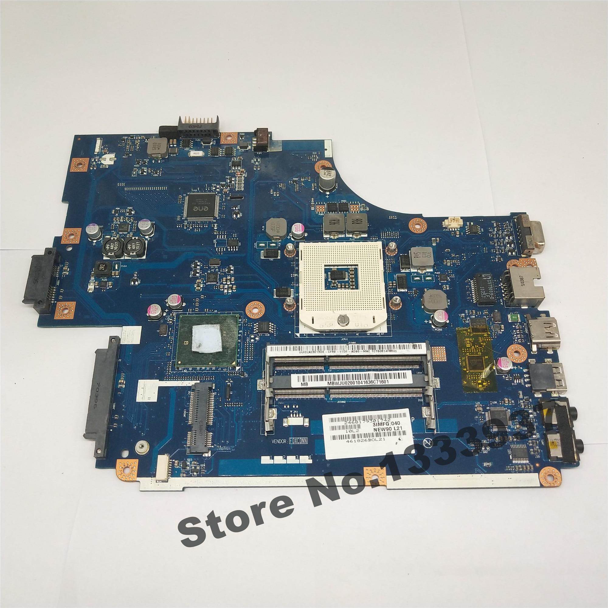 Placa base para portátil Acer aspire 5742 5742G 5741 NEW70 LA-5892P HM55 MBWJU02001 MB.WJU02.001