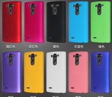 New Rubber Matte Hard Plastic Back Cover Case For LG G3s D724 D722 G3 S G3 mini Beat LG G3 G4 G5 G6 ,High Quality