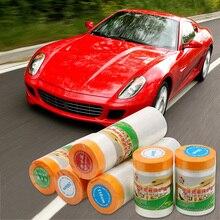 LEEPEE предварительно скрепленный пластиковый спрей для ткани, Защитная пленка для краски, маскирующая пленка, защита от пыли для автомобильной краски