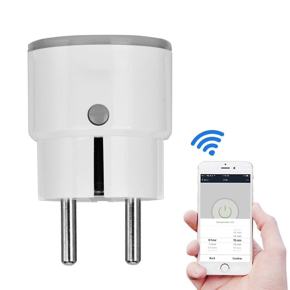 NEO COOLCAM Wifi Smart Eu Sockel w/Timer & Fernbedienung Outlet Unterstützung Alexa für Google Hause