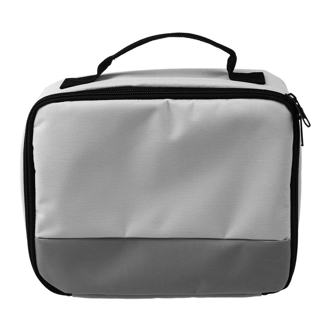 Poliéster de paquete de viaje bolsa caso para canon selphy cp900/910/1200 inteligente impresora de foto para móvil funda protectora bolsa (gra