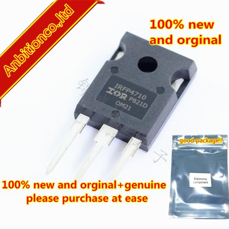 5 piezas 100% nuevo y original IRFP4710PBF IRFP4710-247 HEXFETPower MOSFET en stock