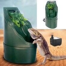 Filtre Reptile automatique en ABS   180*125mm, filtre à eau pour boire, buveurs dalimentation, outils, fontaine deau potable, Lizard caméléon, amphibien