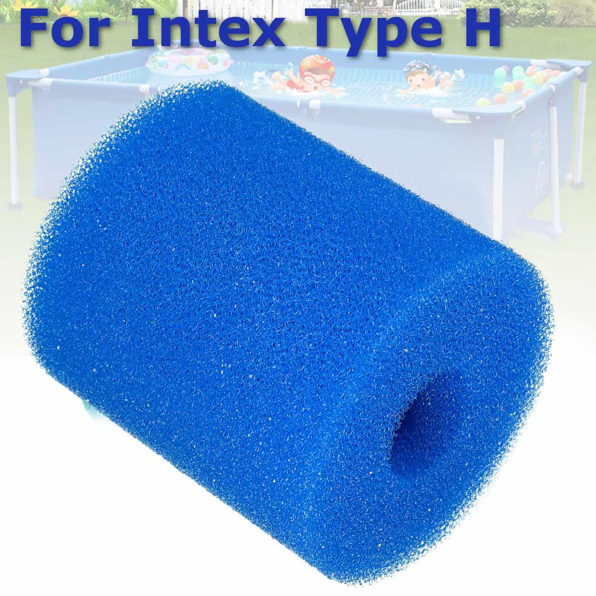 2 размера фильтр для бассейна пена многоразовая моющаяся губка для Intex H S1 Тип картридж пена подходит пузырчатая гидромассажная чистая спа