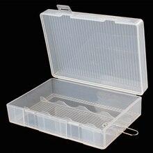 Soshine 1 pièce 26650 boîte de stockage de batterie 4X26650 étui de support de batterie avec support de crochet livraison gratuite en plastique dur