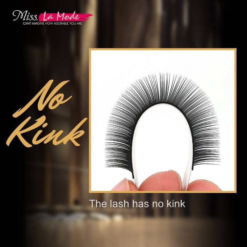 Misslamode all size 16rows/tray 7-15mm mix individual mink eyelashes extension russian volume eyelashes extension supplies