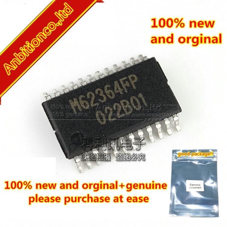 2 pces 100% novo e original m62364fp ssop24 8-bit 8-ch multiplicando D-A conversor com amplificadores de buffer em estoque