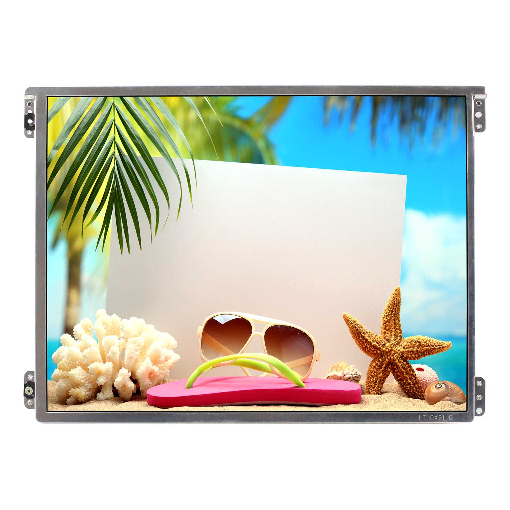 Pantalla LCD IPS de 10,4 pulgadas HT10X21-311 1024X768