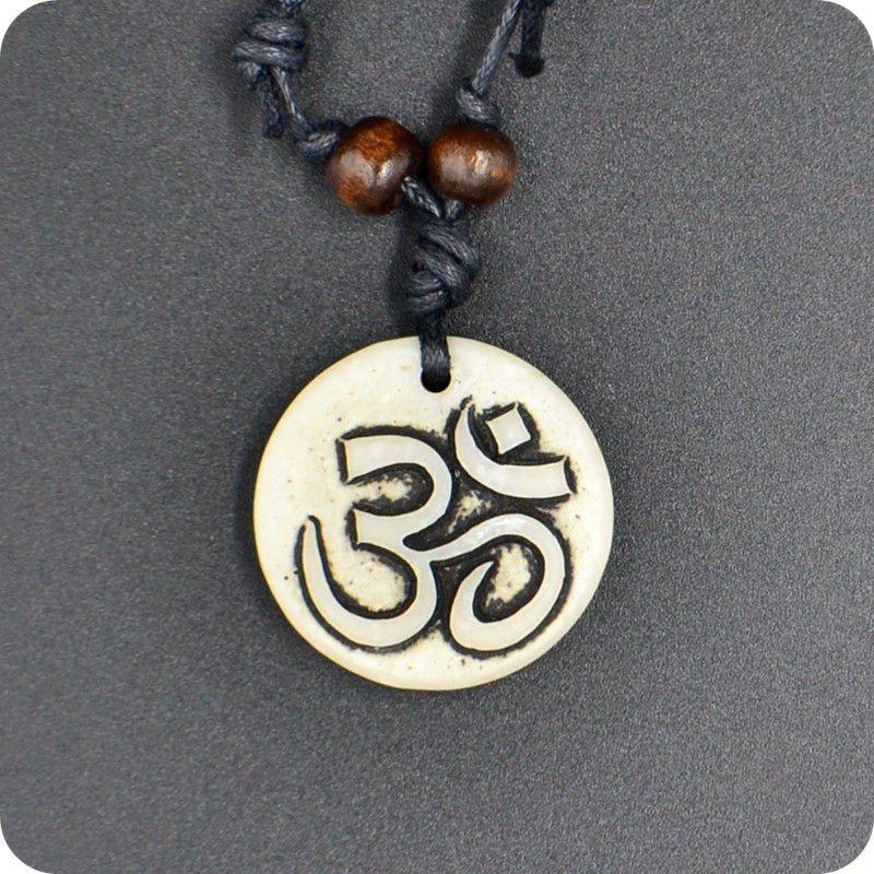 АУМ Ом индуистский буддийский индуизм, Йога, индийская смола, резьба амулет-подвеска, счастливый подарок, племенная мода, ювелирные изделия