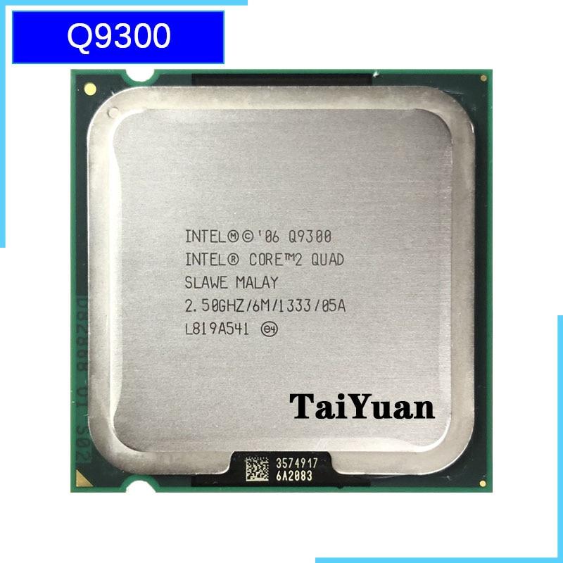 Процессор Intel Core 2 Quad Q9300 2,5 ГГц четырехъядерный процессор 6M 95W 1333 LGA 775