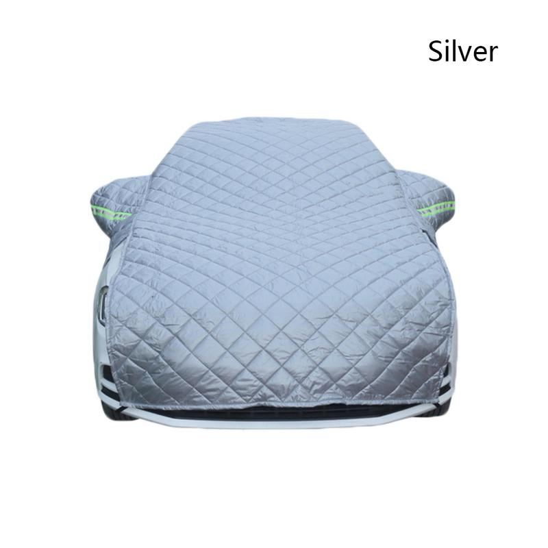 Thickened Cotton Car Cover Winter Snow Protection Anti-Frost Wear-Resistant Vehicle Cover Durable Fi