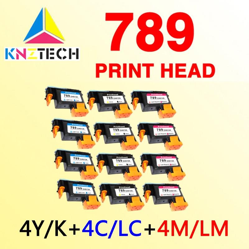 4 789 cabezal de impresión compatibles para hp789 L25500 cabezal de impresión CH612A CH613A CH614A