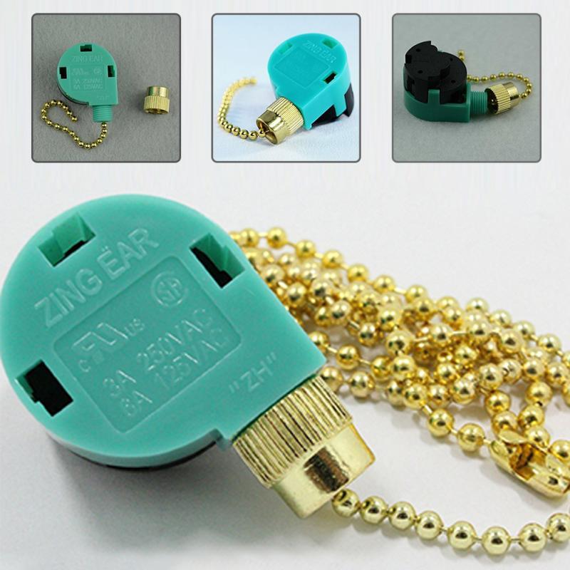 Interruptor de zíper, interruptor de zíper com 3 velocidades, controle de corrente, interruptores de níquel elétrico