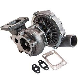 A/R .63 Comp A/R .5 T3 flange 5 bolt Oil t04e type turbo turbocharger w/gasket
