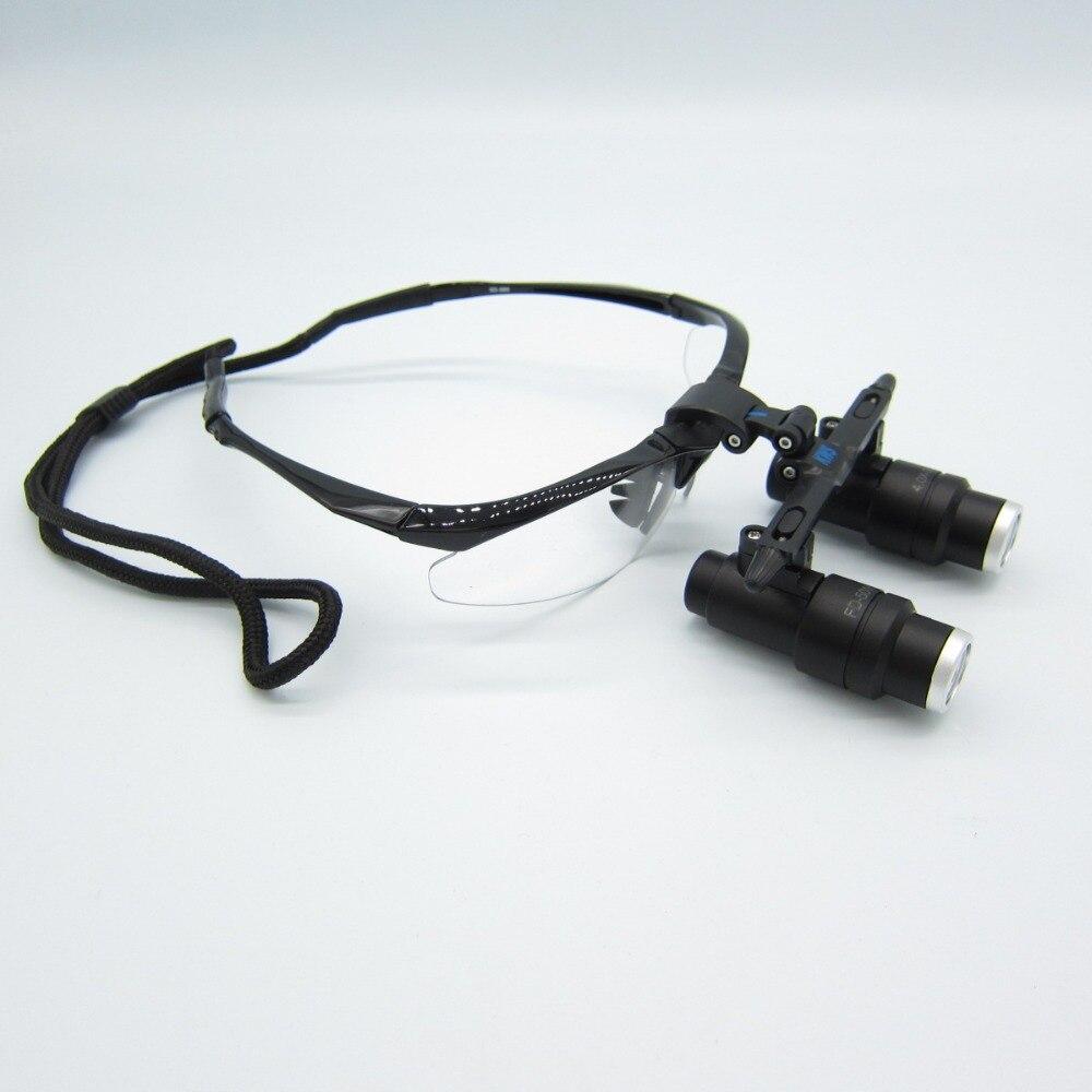 Alta qualidade 4x kepler binocular médica lupas cirúrgicas lupas dental lupas médica cabeça lupas FD-501-K