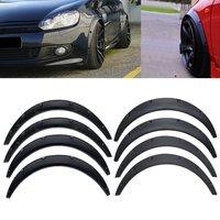 4Pcs 88cm & 81.5cm Car Body for fender Flares Extension Wide Wheel Arches Universal Flexible Auto Mudguard Mud Guard