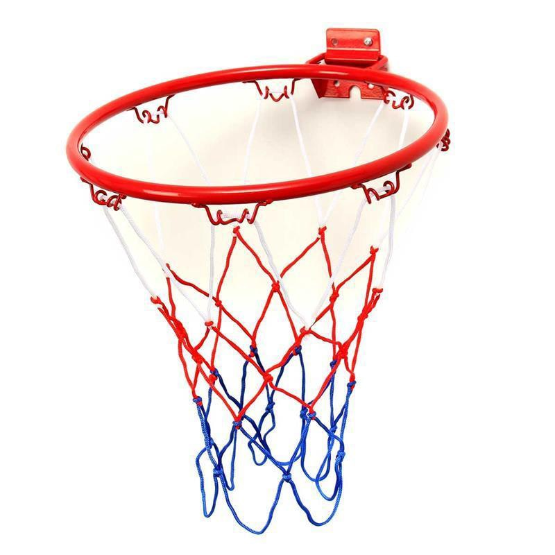 32 см Баскетбол висит Баскетбол настенный цели обруча обод чистая спортивные сетки в помещении