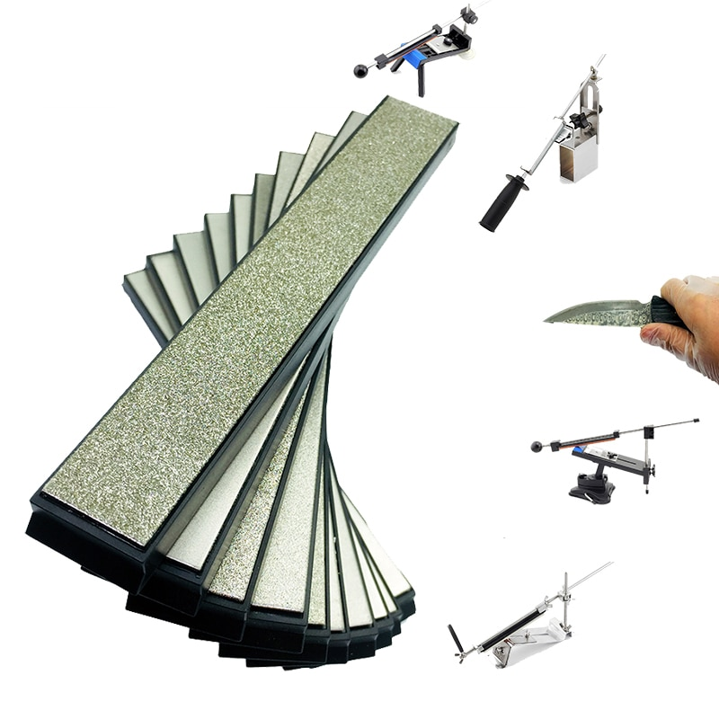 80-3000 Grit Kitchen Scissors Razors knife sharpener diamond whetstone Ruixin Pro EDGE stone