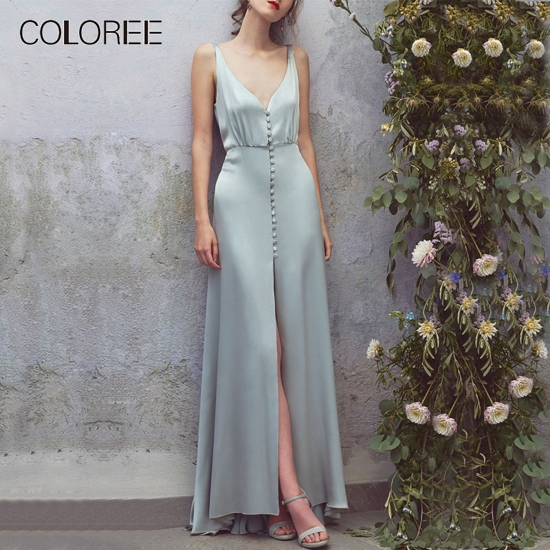 Hoge Kwaliteit Zomer Jurk 2019 Vrouwen Vintage V-hals Mouwloos Ruches Geplooide Lange Jurk Designer Runway Dress