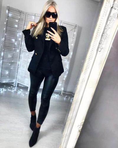 Women Sexy High Waist Skinny Stretch Trousers Ladies Black Leopard Snake Print Long Slim Pencil Pants