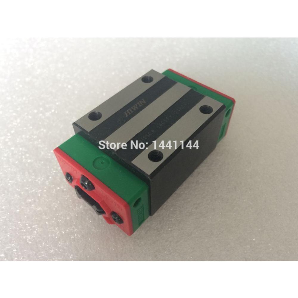 HGR30 HIWIN خطي السكك الحديدية: 4 قطعة HGH30CA 100% جديد الأصلي HIWIN العلامة التجارية دليل خطي كتلة ل HIWIN خطي السكك الحديدية HGR30 CNC أجزاء