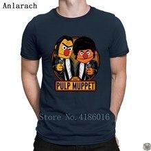 Pulp Muppet Street camiseta Popular Unisex 2018 camiseta de hombre Crazy de talla grande 3xl diseño de camiseta de tendencia