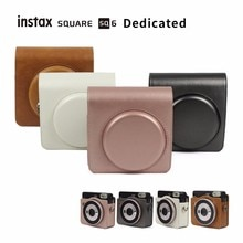 FUJIFILM Instax SQUARE SQ6 Camera Bag 4 colours Vintage PU Leather Case Shoulder Strap Pouch  Carry