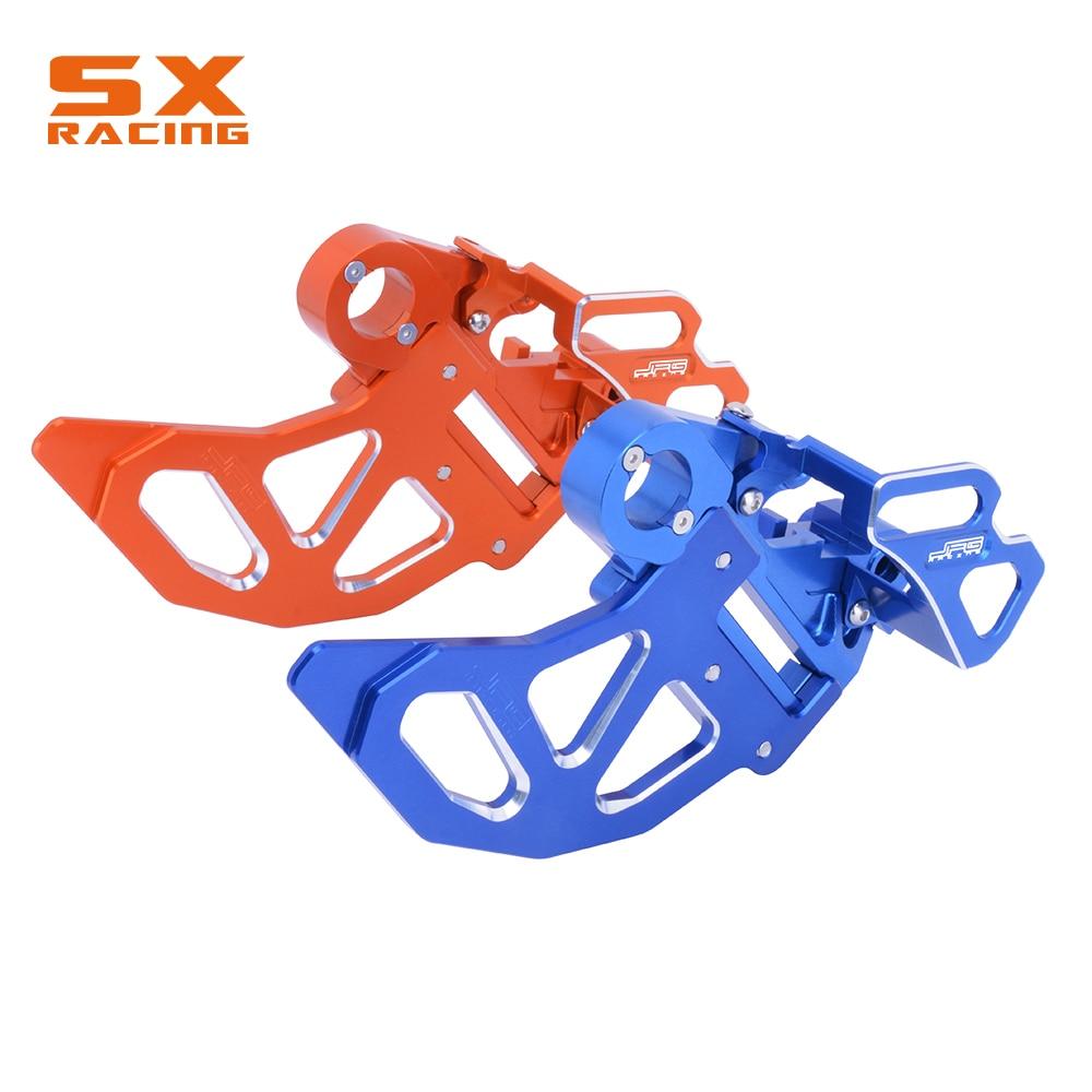 Nuevo protector de disco de freno trasero CNC para Husqvarna KTM SX XC SXF XCF 125 150 250 300 350, 450 FC TC TX FS FX