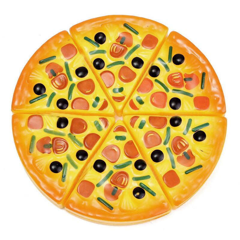 Pudcoco Toy Kids 6 PCS Crianças Bebê Festa de Pizza Fast Food Cooking Corte Pretend Play Toy Set Presente