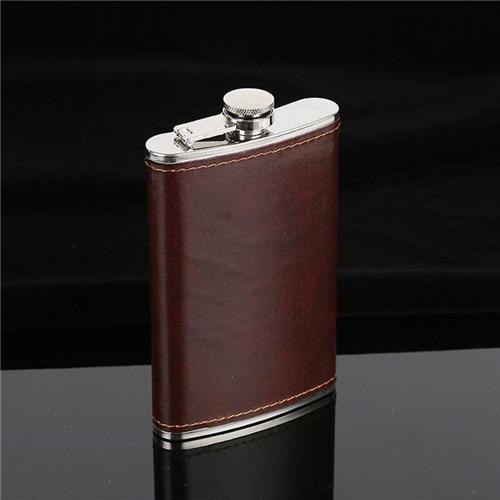5/6/7/8/9/10oz Hip Flask Portable Stainless Steel Wine Whiskey Liquor Alcohol Bottle Gift