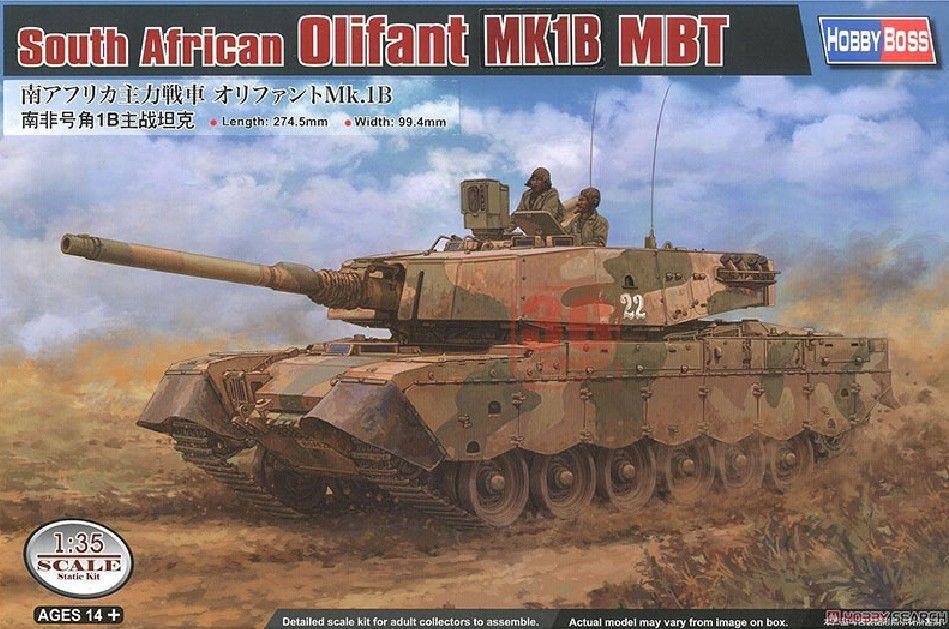 Hobbyboss 1/35 83897 южноафриканские MBT Olifant MK1B