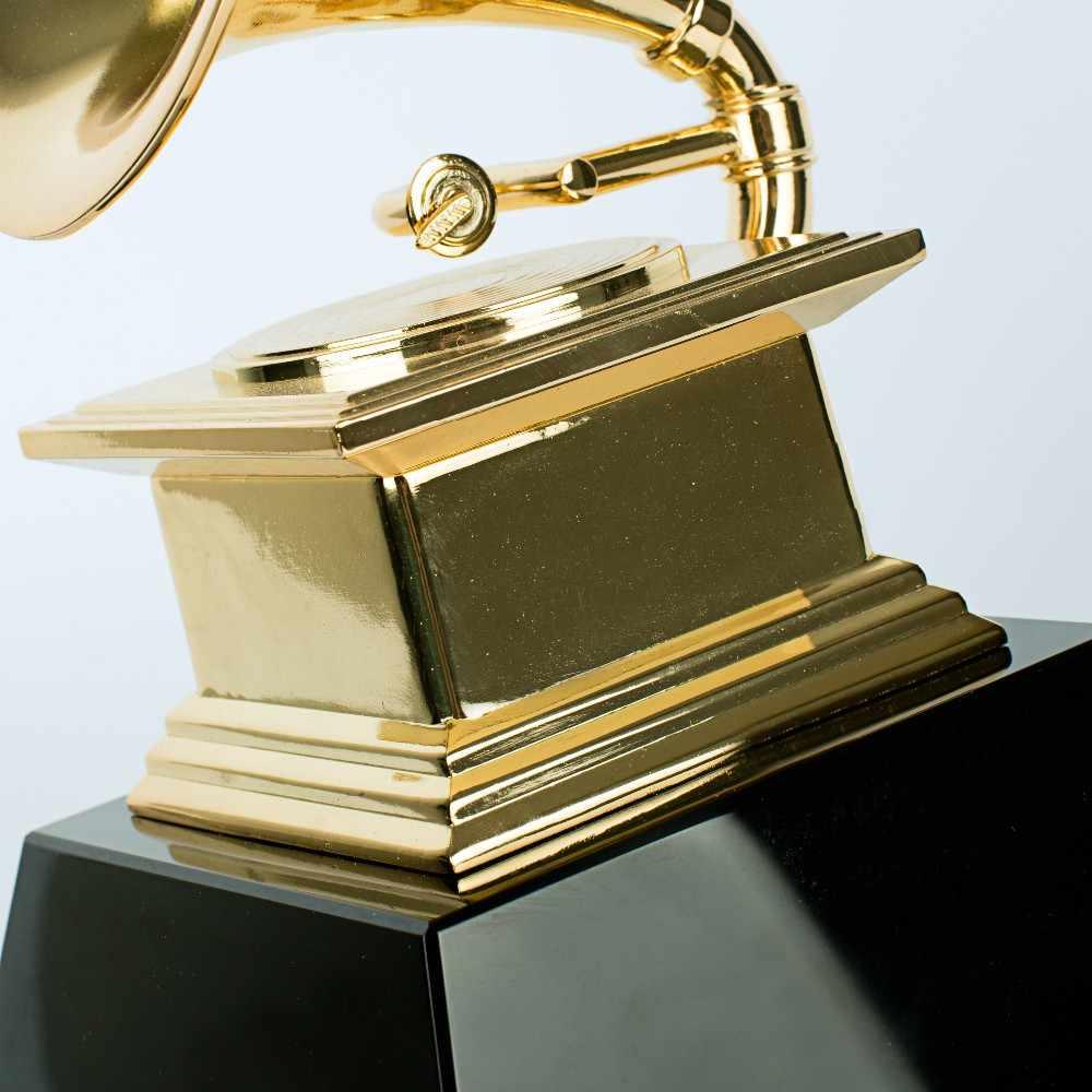 Tamaño Completo De Los Premios Grammy De Metal Americano Grammy Premios Trofeo Grammy Estatuas Y Esculturas Aliexpress