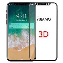 Full Screen Cover 3D Tempered Glass For iphone X Max XR Screen Protector 9H Explosion-proof Protecti