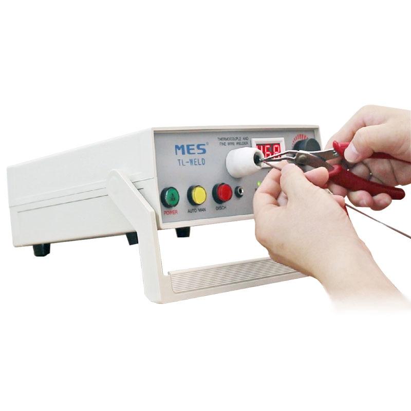 Máquina de soldadura recarregável do fio do par termoelétrico do soldador do ponto do par TL-WELD com função do contato do argônio