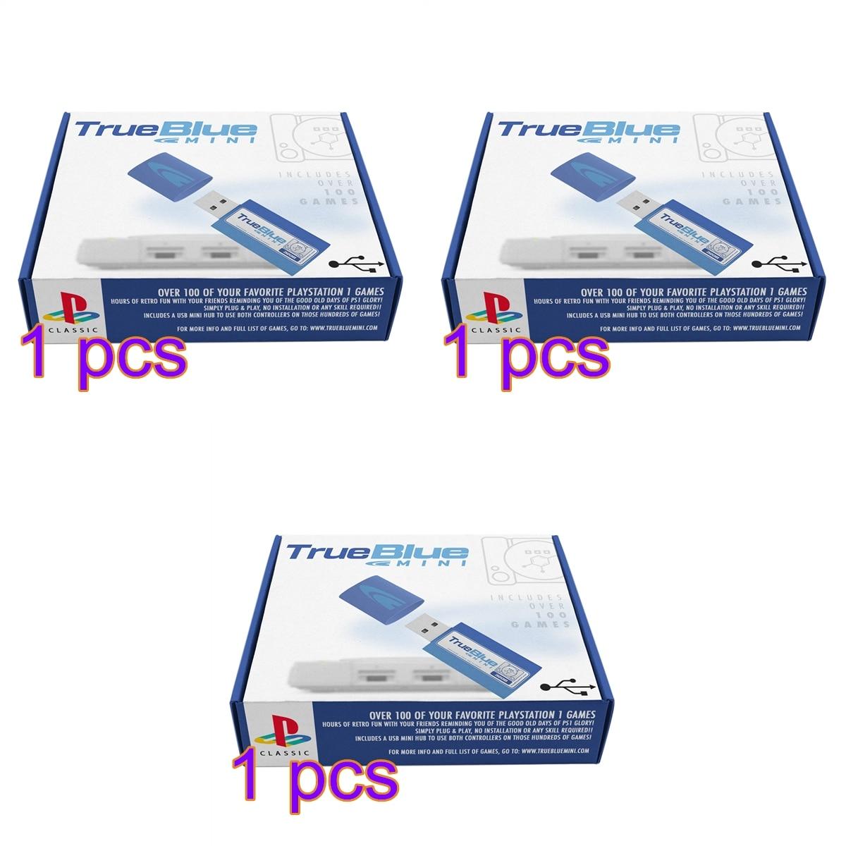 HOBBYINRC 64G True Blue Mini Crackhead Pack 101 Games +64G Meth Pack 101 Games+32G Fight Pack 58 Games for PlayStation Classic