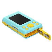 2.4HD pantalla cámara Digital 16MP Anti-sacudida detección de la cara videocámara en blanco punto y disparo cámara Digital portátil niño lindo