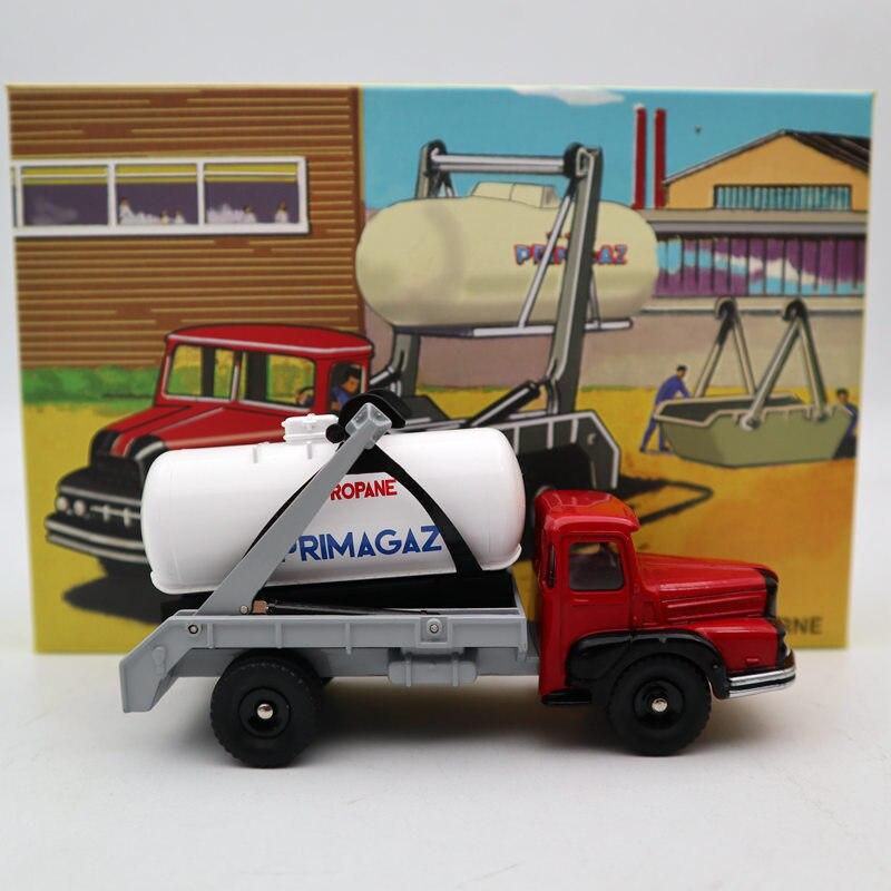 Atlas Dinky 805-شاحنة Unic Multibenne Marrel and tank Primagaz Diecast Toys 1:43