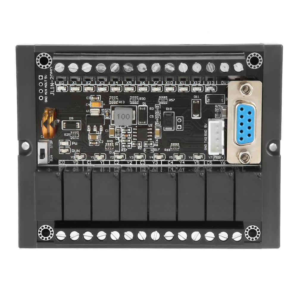 PLC التحكم الصناعي مجلس برمجة التتابع تأخير وحدة مع قذيفة FX1N-20MR